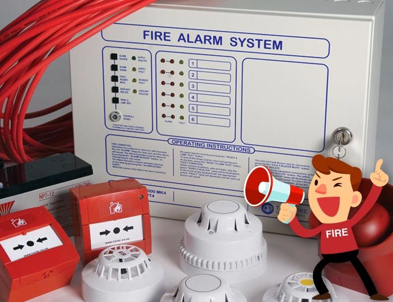 fire alarm cheshire installation